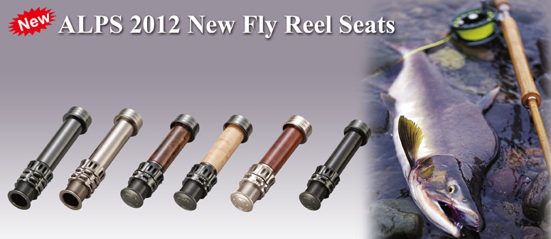 Reel Seats For Fly Rods Alps 2012 New Fly Reel Seat
